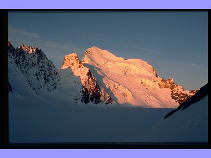 Around Grenoble: La Barre des Ecrins, 4100m